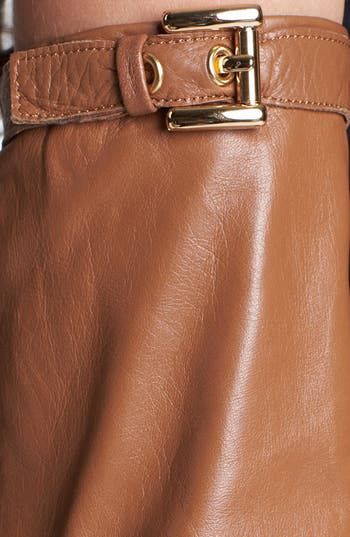 Alternate Image 2  - MICHAEL Michael Kors Long Leather Gloves