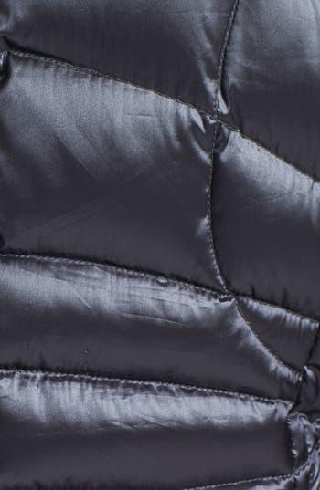 Alternate Image 3  - Bernardo Hooded Insert Goose Down Vest (Regular & Petite)