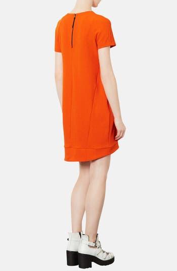 Alternate Image 2  - Topshop Crepe Shift Dress
