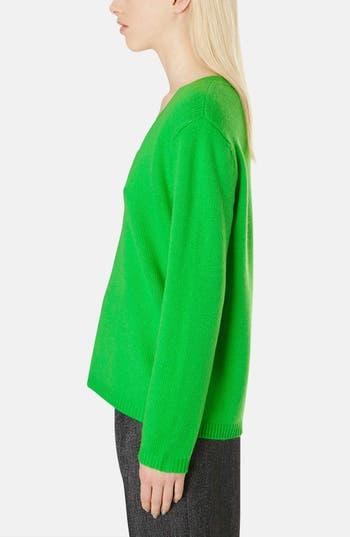 Alternate Image 4  - Topshop Boutique Cashmere V-Neck Sweater
