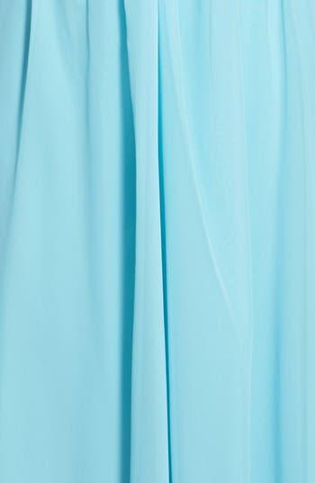 Alternate Image 3  - Hailey Logan Embellished One-Shoulder Gown (Juniors)