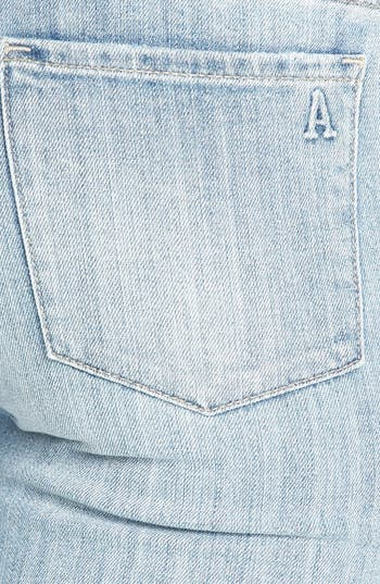 Alternate Image 3  - Articles of Society 'Zoey' Crop Skinny Jeans (Light) (Juniors)