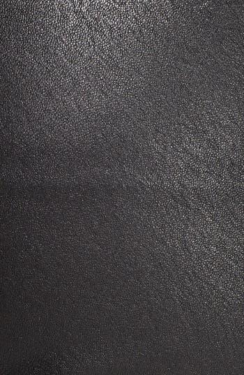 Alternate Image 3  - Vince Lambskin Leather Zip Detail Leggings