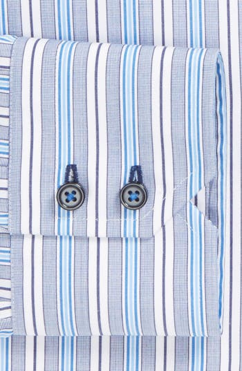 Alternate Image 2  - BOSS HUGO BOSS 'Gorman' WW Regular Fit Easy Iron Stripe Dress Shirt