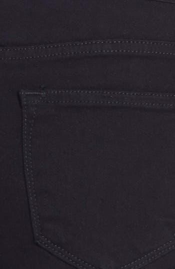 Alternate Image 3  - PPLA High Waist Denim Cutoff Shorts (Juniors)
