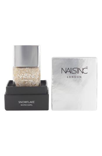 Alternate Image 2  - nails inc. London 'Snowflake' Nail Polish (Limited Edition)