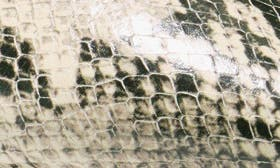 Roccia Snake Print Leather swatch image