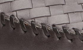 Charcoal/ Ice Leather swatch image