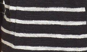 Black- Ivory Stripe swatch image