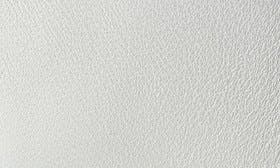 Pure White Leather/ Steel Grey swatch image