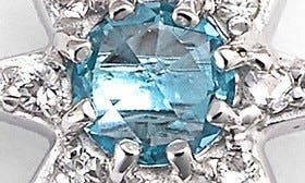 Blue Topaz/ Silver swatch image