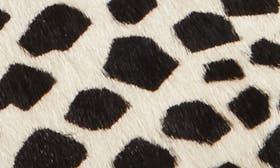 Giraffe Printed Hair Calf swatch image