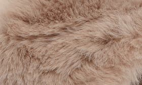 Nude Faux Fur Leather swatch image selected