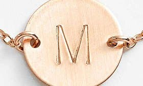 14K Gold Fill M swatch image