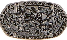 Black Drusy/ Gunmetal swatch image