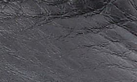 Black/Black Leather swatch image