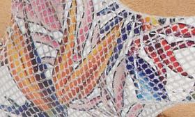 White Nubuck Leather swatch image