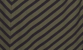 Olive- Black Rena Stripe swatch image