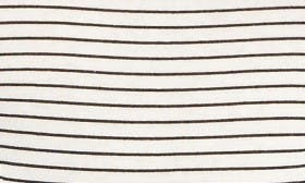 White/ Black Stripe swatch image