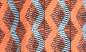 Rust- Orange Diamond Geo swatch image