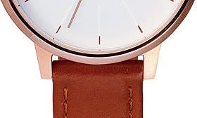 Brown/ Rose Gold/ White swatch image