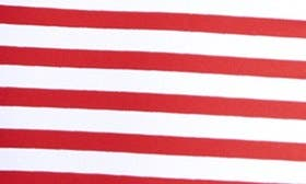 Red Stripes/ Navy swatch image