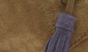 Dark Olive Suede swatch image