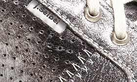 Basalt Metallic Leather swatch image