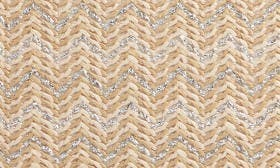 Natural- Silver Chevron swatch image