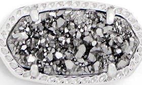 Platinum Drusy/ Silver swatch image