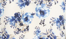 Ivory/ Blue Floral swatch image