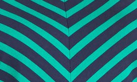Navy- Green Rena Stripe swatch image