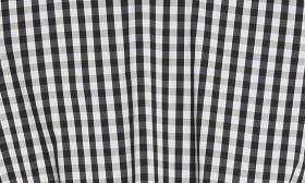 Black/ White Gingham swatch image