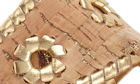 Cork/ Gold Metallic swatch image