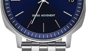 Silver/ Navy swatch image