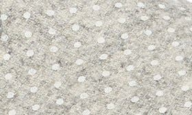Polka Dots/ Grey Wool swatch image