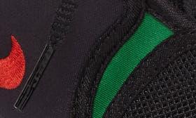 Black/ Atom Red/ Pine Green swatch image