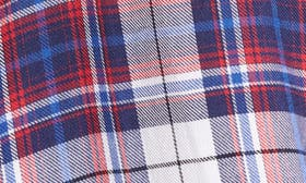 Blue/ Red Plaid swatch image