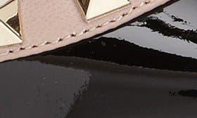 Black/ Blush Patent swatch image