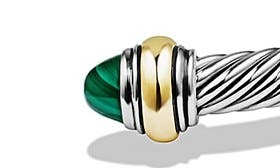 Silver/ Gold/ Malachite swatch image