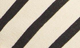 New Natural/ Black Stripe swatch image