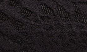 Black Leather/ Lace swatch image