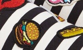 Black Stripe Fabric swatch image