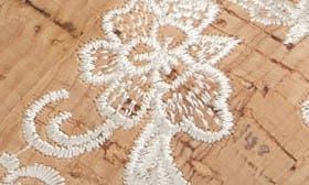 Natural Cream Nubuck Leather swatch image