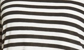 Black/ White Stripe swatch image selected