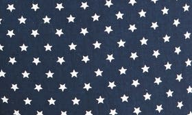 Navy Iris Star Print swatch image