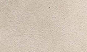 Barley/ Indigo Nubuck Leather swatch image