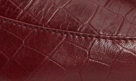 Wine Croco Leather swatch image