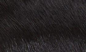 Black Calfhair swatch image