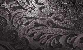 Black Paisley Leather swatch image